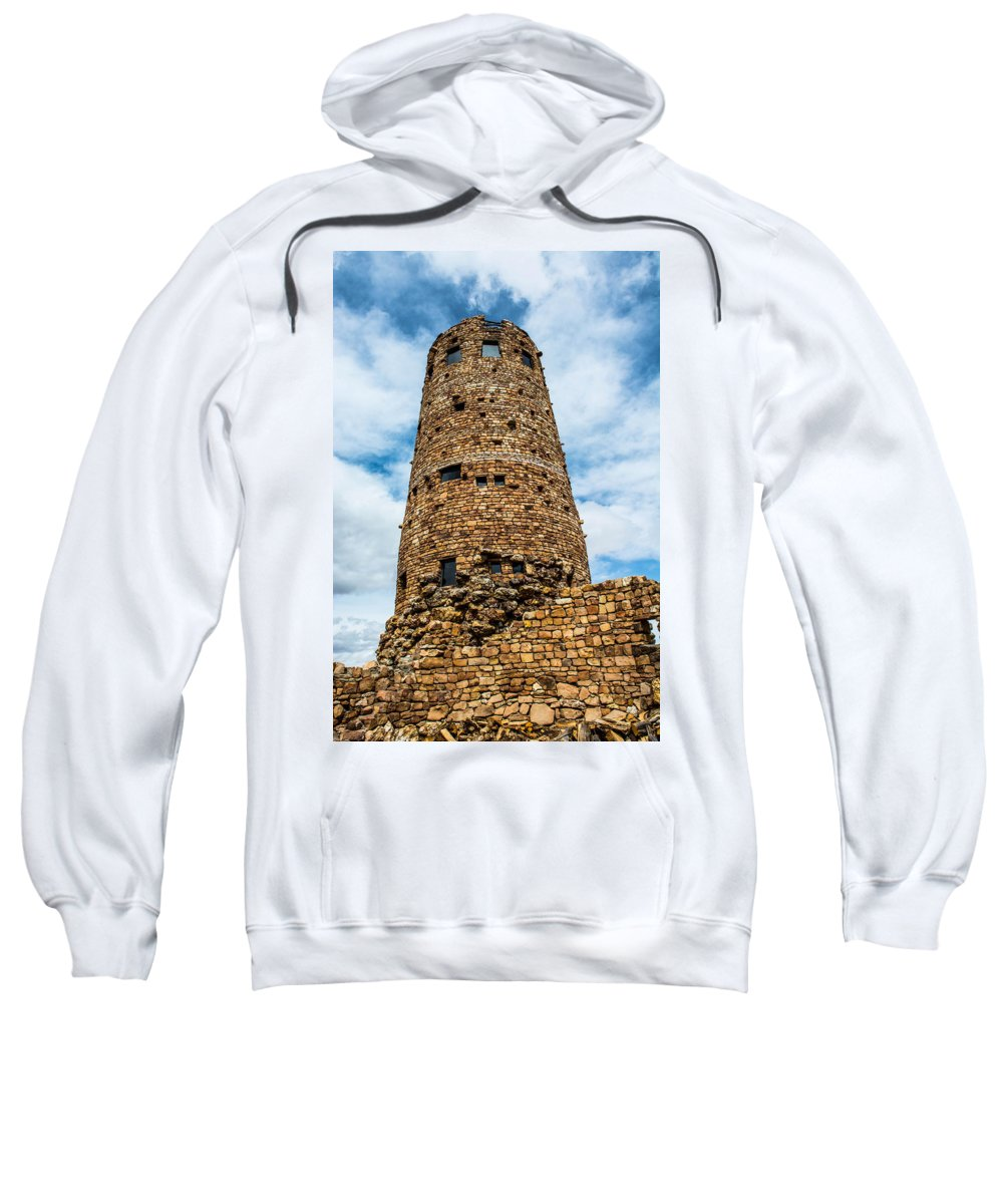 Grandcanyon Sweatshirt featuring the photograph Indian Watchtower Grand Canyon by Michael Moriarty