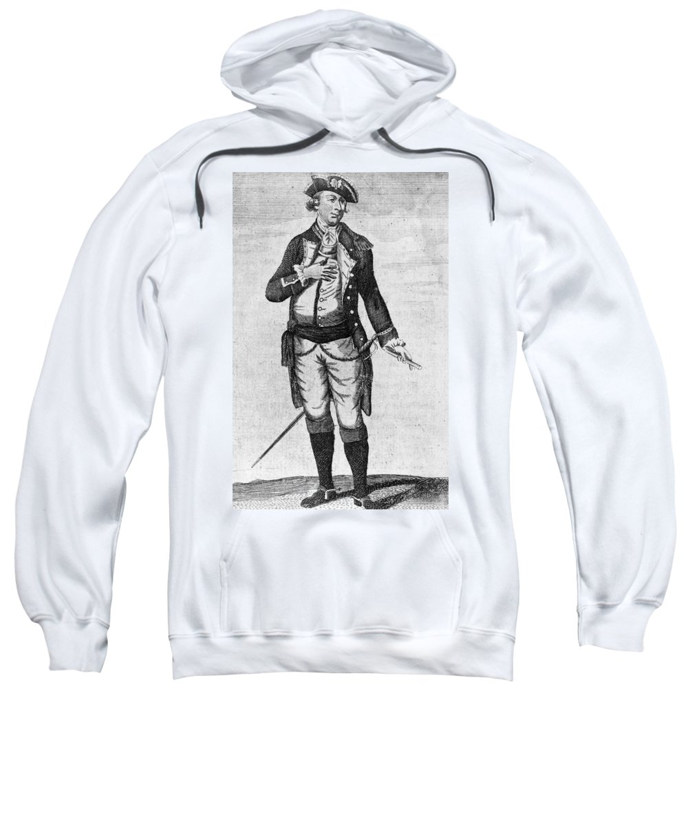 1780 Sweatshirt featuring the photograph Richard Montgomery by Granger