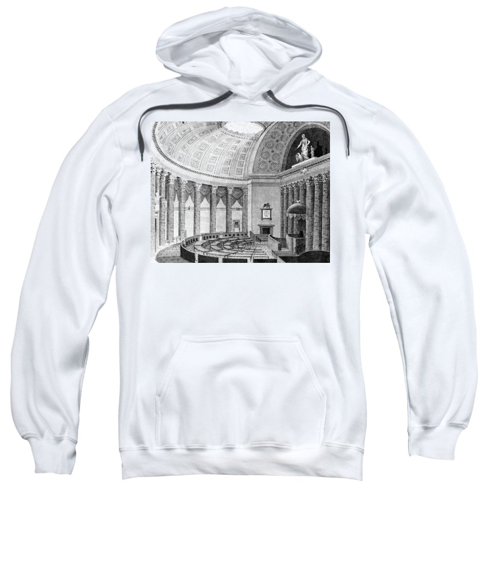 1831 Sweatshirt featuring the painting U by Granger