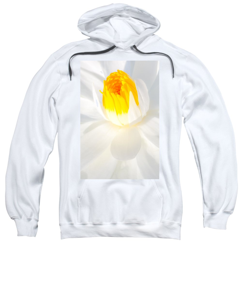 Flowers Sweatshirt featuring the photograph Water Lily by Dennis Goodman