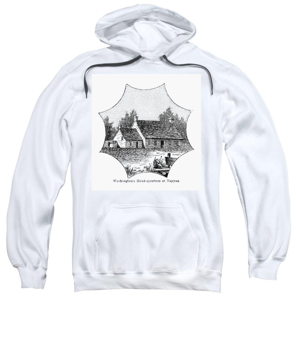 1780 Sweatshirt featuring the photograph Washington: Headquarters by Granger
