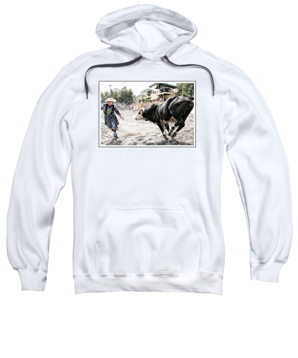 Rodeo Sweatshirt featuring the photograph Moving by Alice Gipson