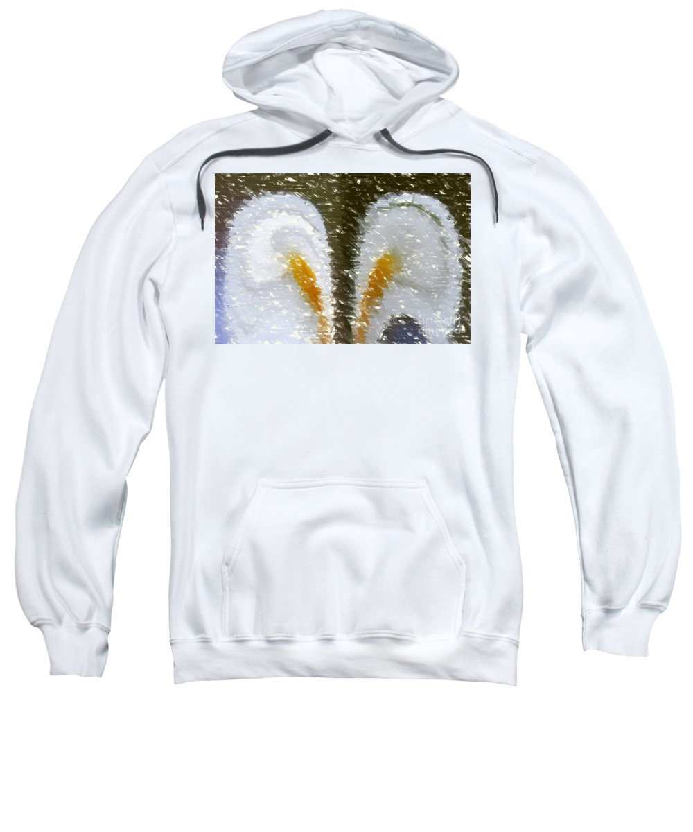 Abstract 121 Sweatshirt featuring the digital art Abstract 121 by Barbara Griffin