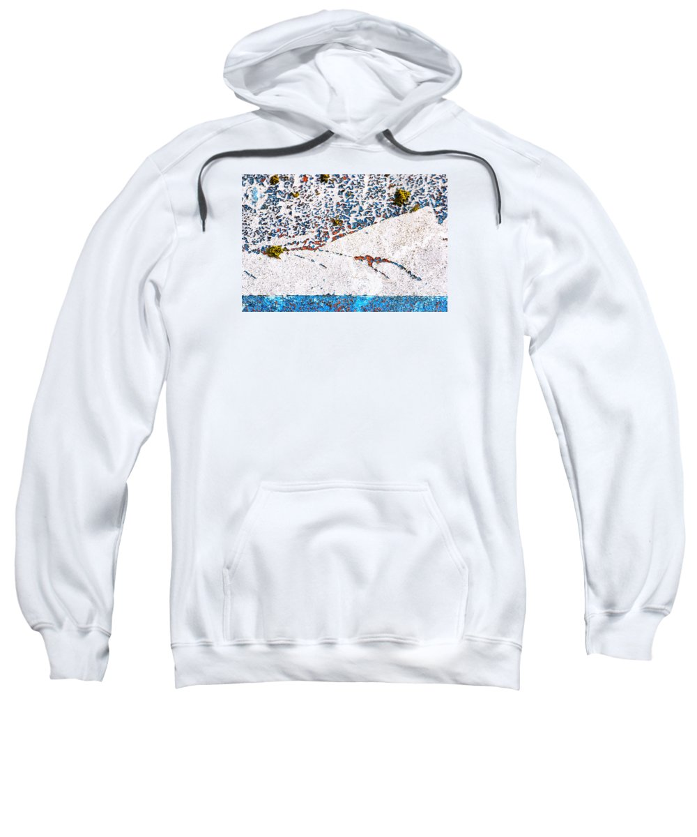 Wendy Wilton Sweatshirt featuring the photograph Abstract Snow Storm by Wendy Wilton