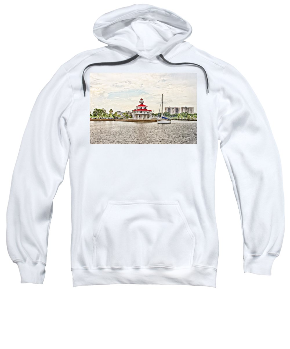 Surreal Sweatshirt featuring the photograph Afternoon On The Water - Hdr by Scott Pellegrin