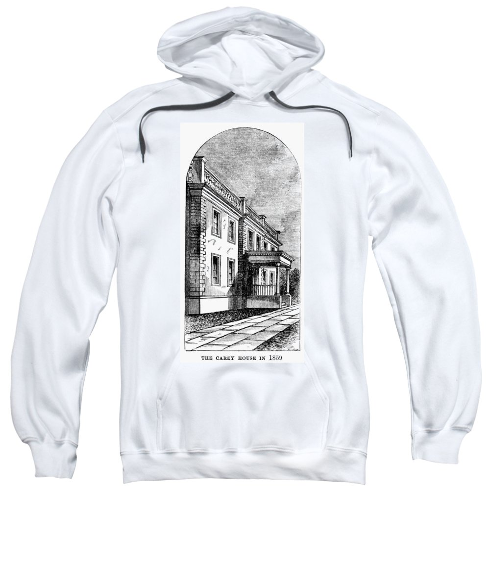 1883 Sweatshirt featuring the painting Alexandria, Virginia by Granger