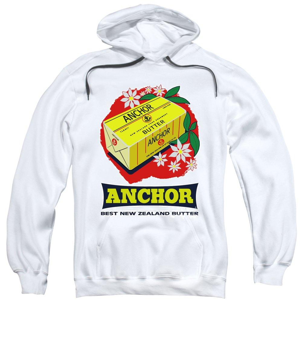 Vintage Sweatshirt featuring the digital art Anchor by Studio Poco Los Angeles