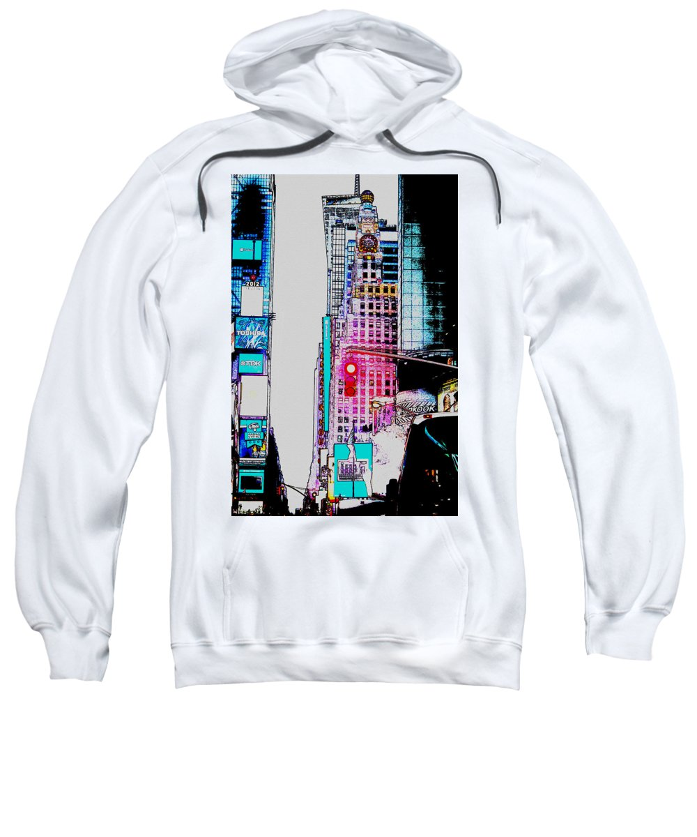 Crossroads Of The World Digital Art Hooded Sweatshirts T-Shirts