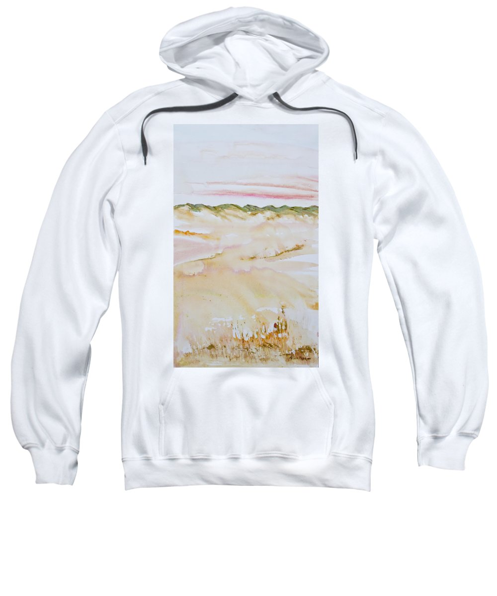 Dunes Sweatshirt featuring the painting Arniston Dune Sunet by Melanie Meyer