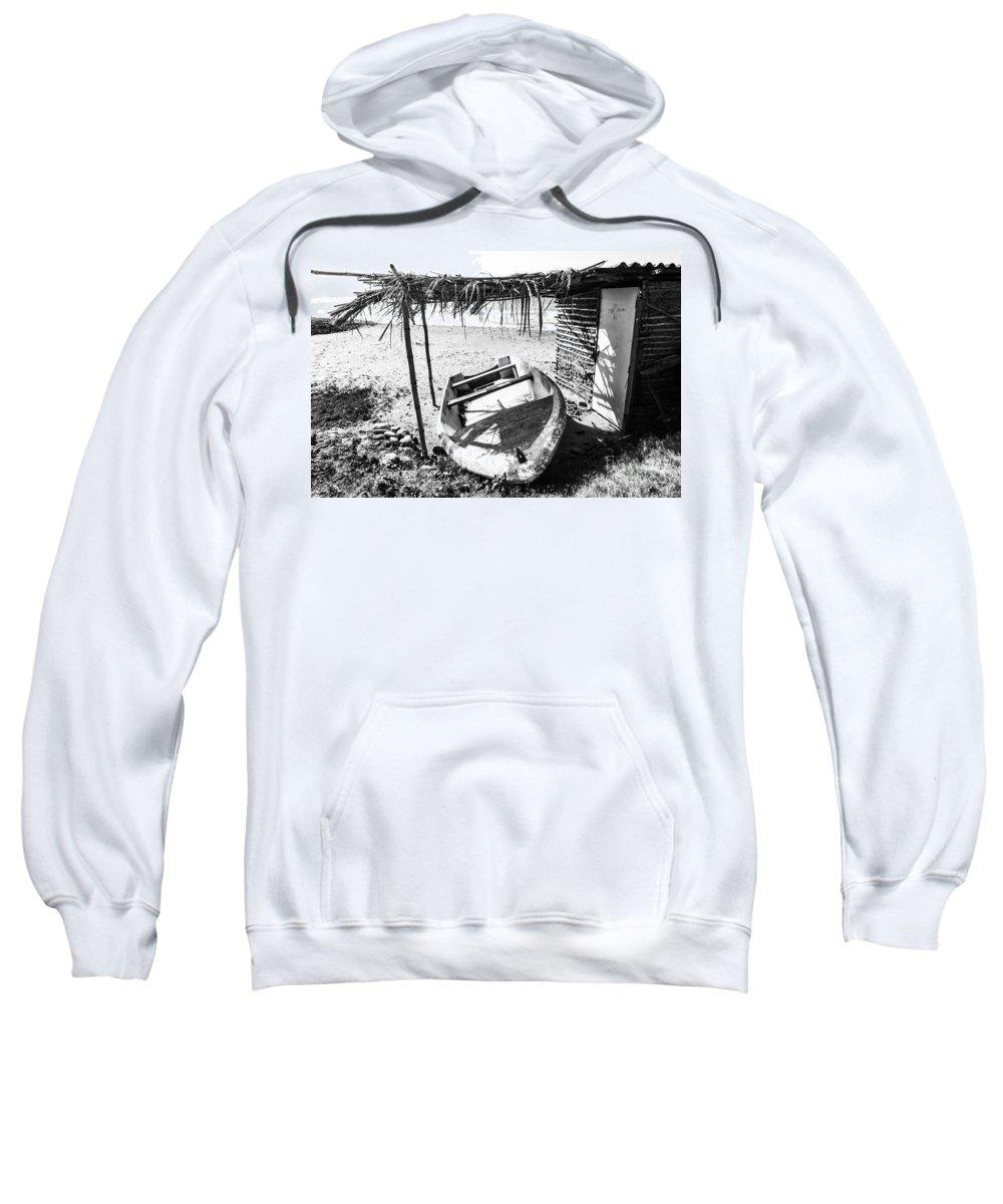 Beach Sweatshirt featuring the photograph At The Beach by Carolina Mendez