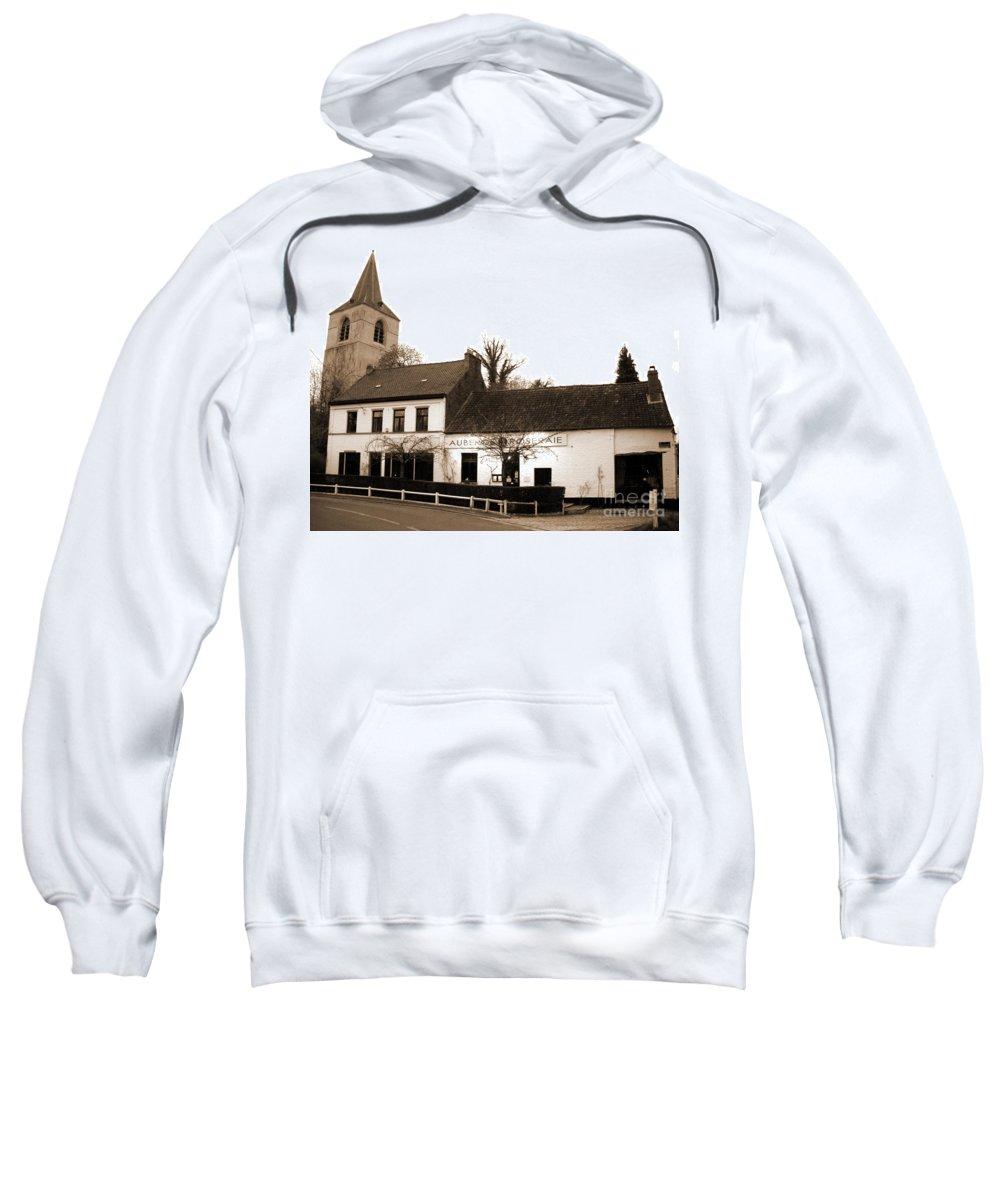 Brussels Sweatshirt featuring the photograph Auberge De La Roseraie by Andrea Rea