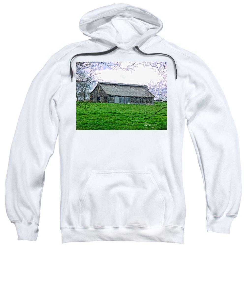 Barn Sweatshirt featuring the photograph Barn 26 by Ericamaxine Price