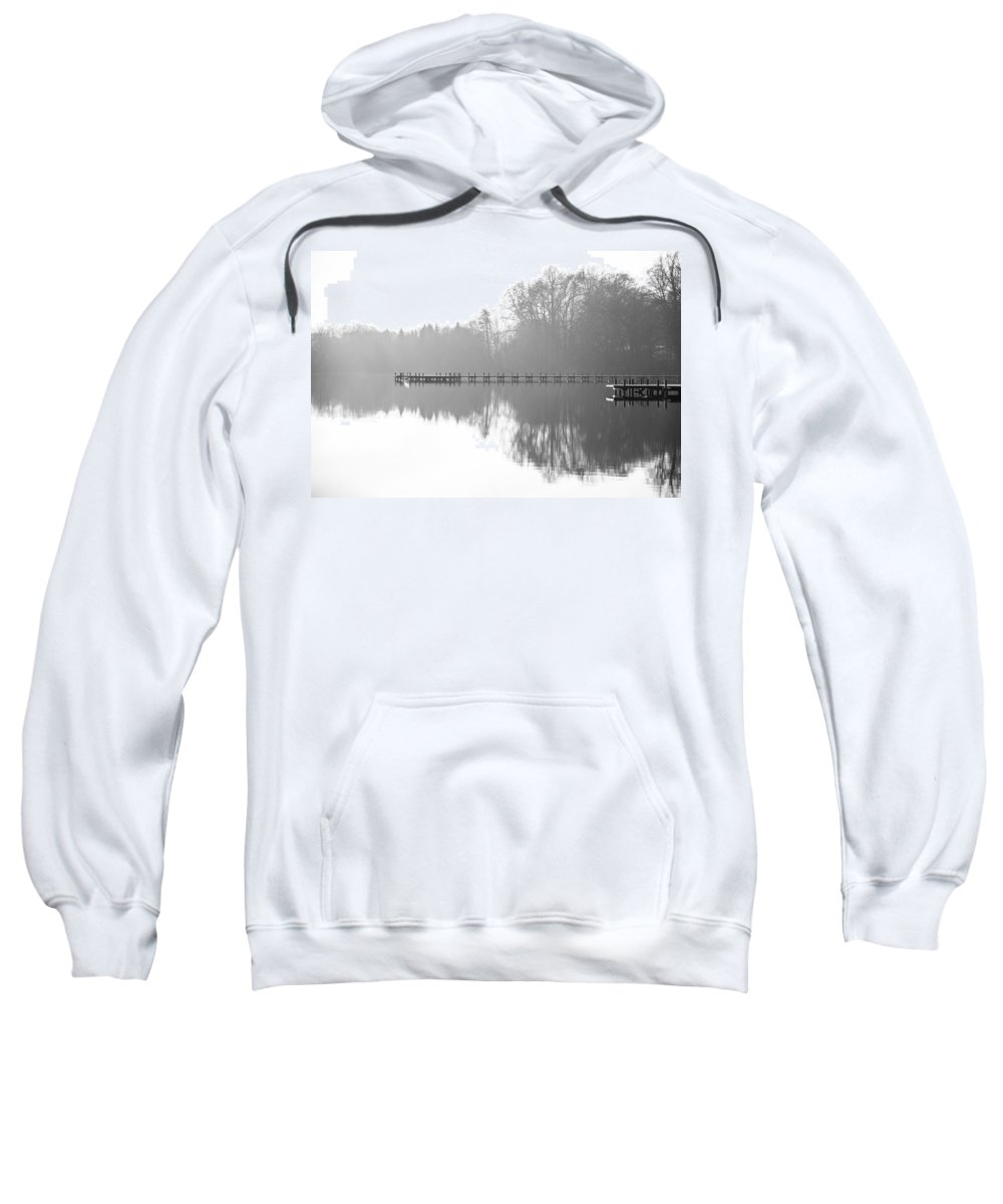 Base Sweatshirt featuring the photograph Base by Ralf Kaiser