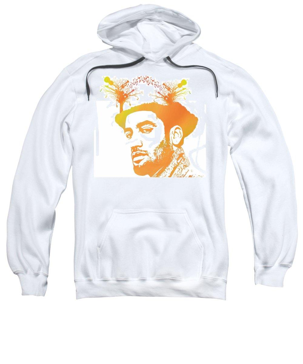 Trumpet Mixed Media Hooded Sweatshirts T-Shirts