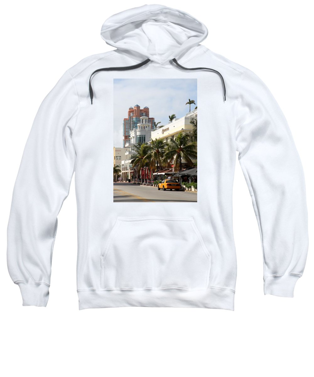 Bentley Hotel Sweatshirt featuring the photograph Bentley Hotel Miami by Christiane Schulze Art And Photography