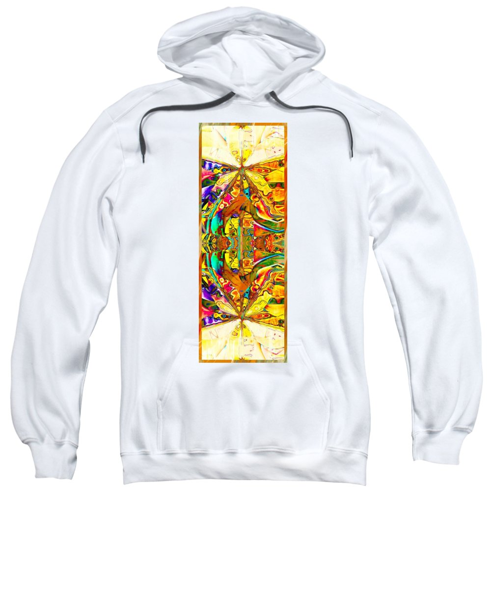 Digital Art Sweatshirt featuring the digital art Big Rock Candy Mountain by Amanda Moore