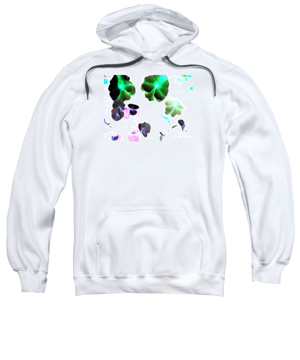 Space Sweatshirt featuring the photograph Blooming Space by Pauli Hyvonen