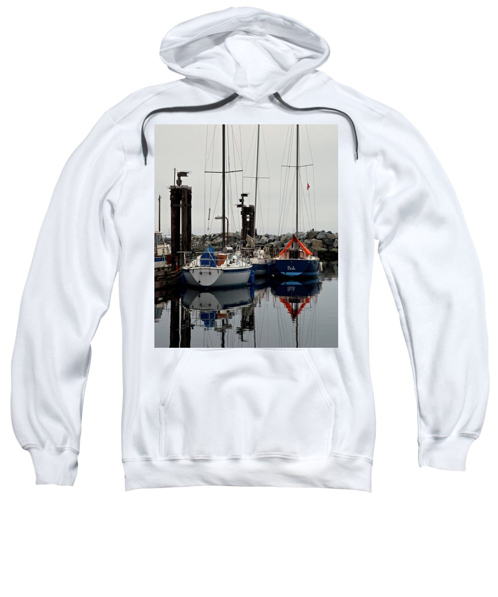 Sailboat Sweatshirt featuring the photograph Bob by Randy Hall