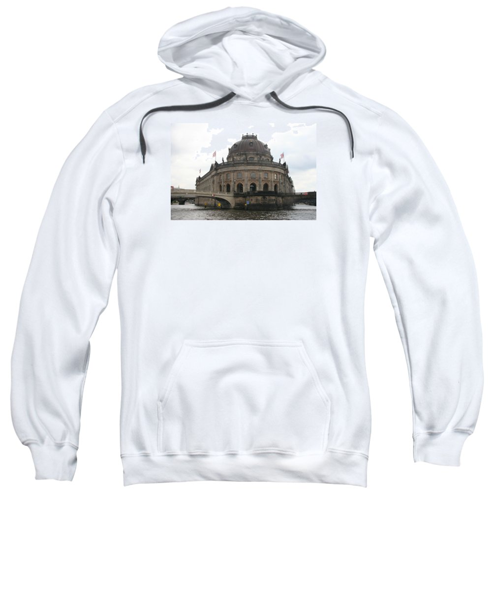 Museum Sweatshirt featuring the photograph Bode Museum - Berlin - Germany by Christiane Schulze Art And Photography