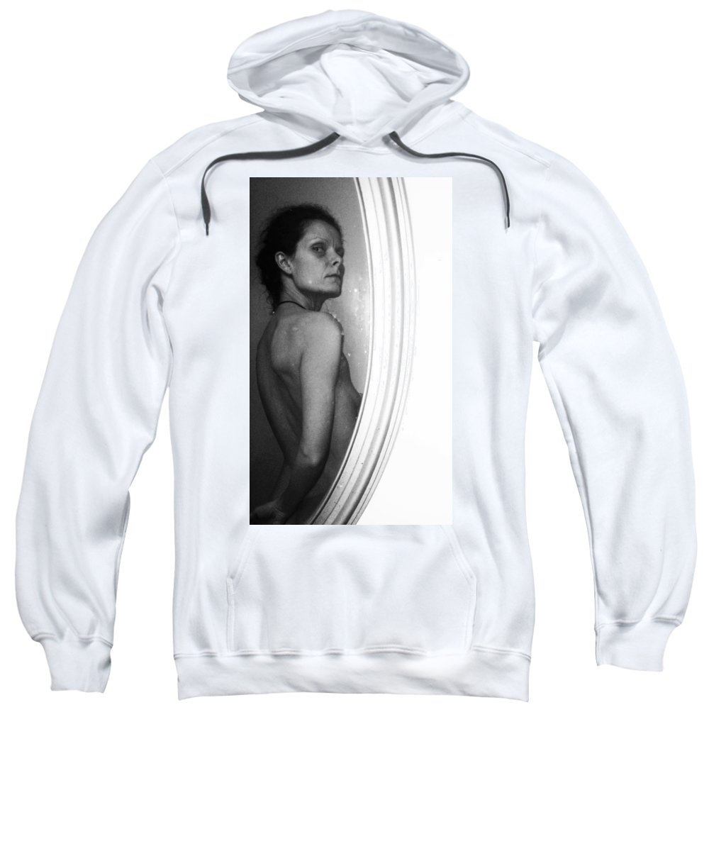 Nude Sweatshirt featuring the photograph Body Image 5 by Michele Monk