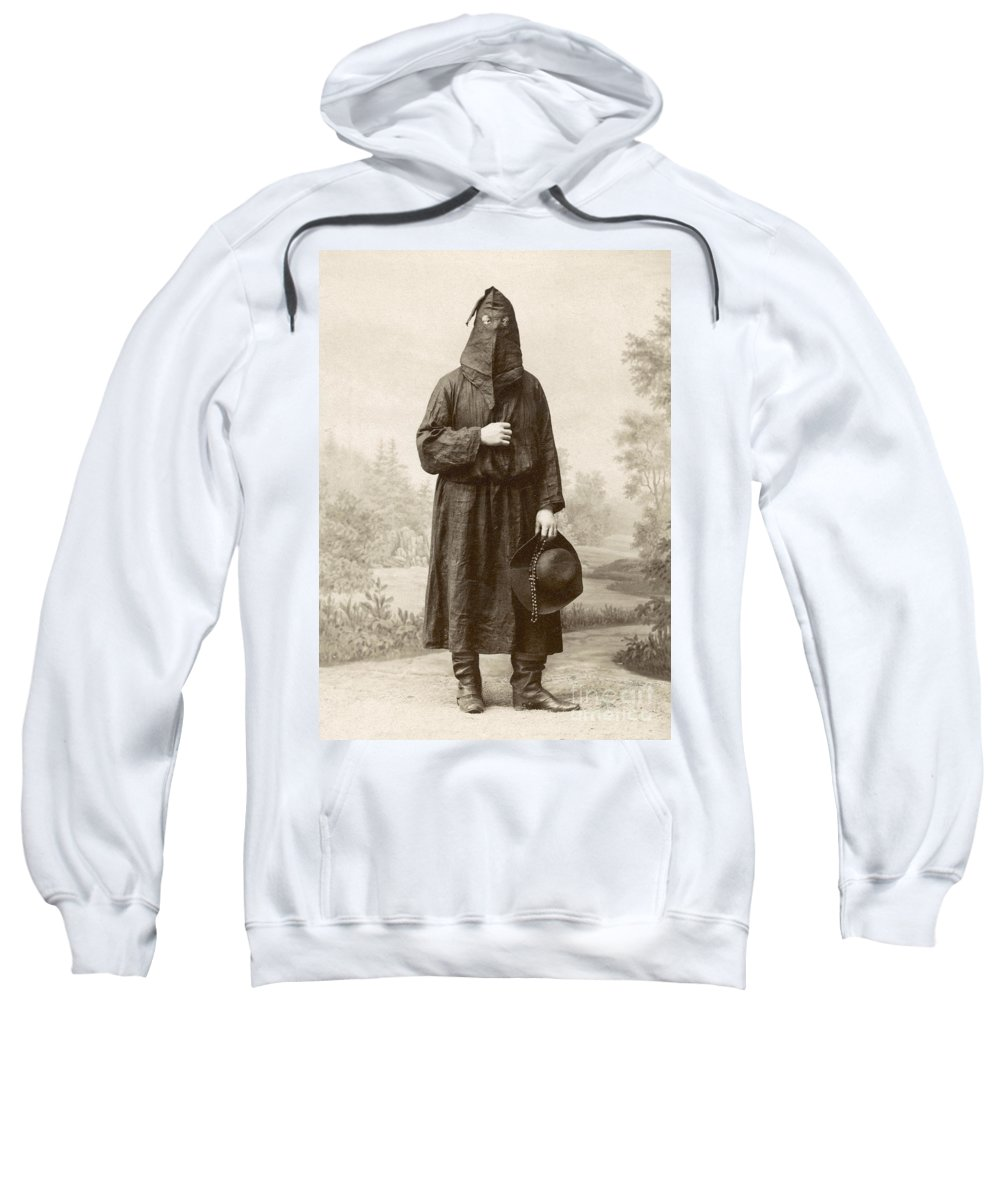 1890s Sweatshirt featuring the photograph Brotherhood Of Mercy by Granger