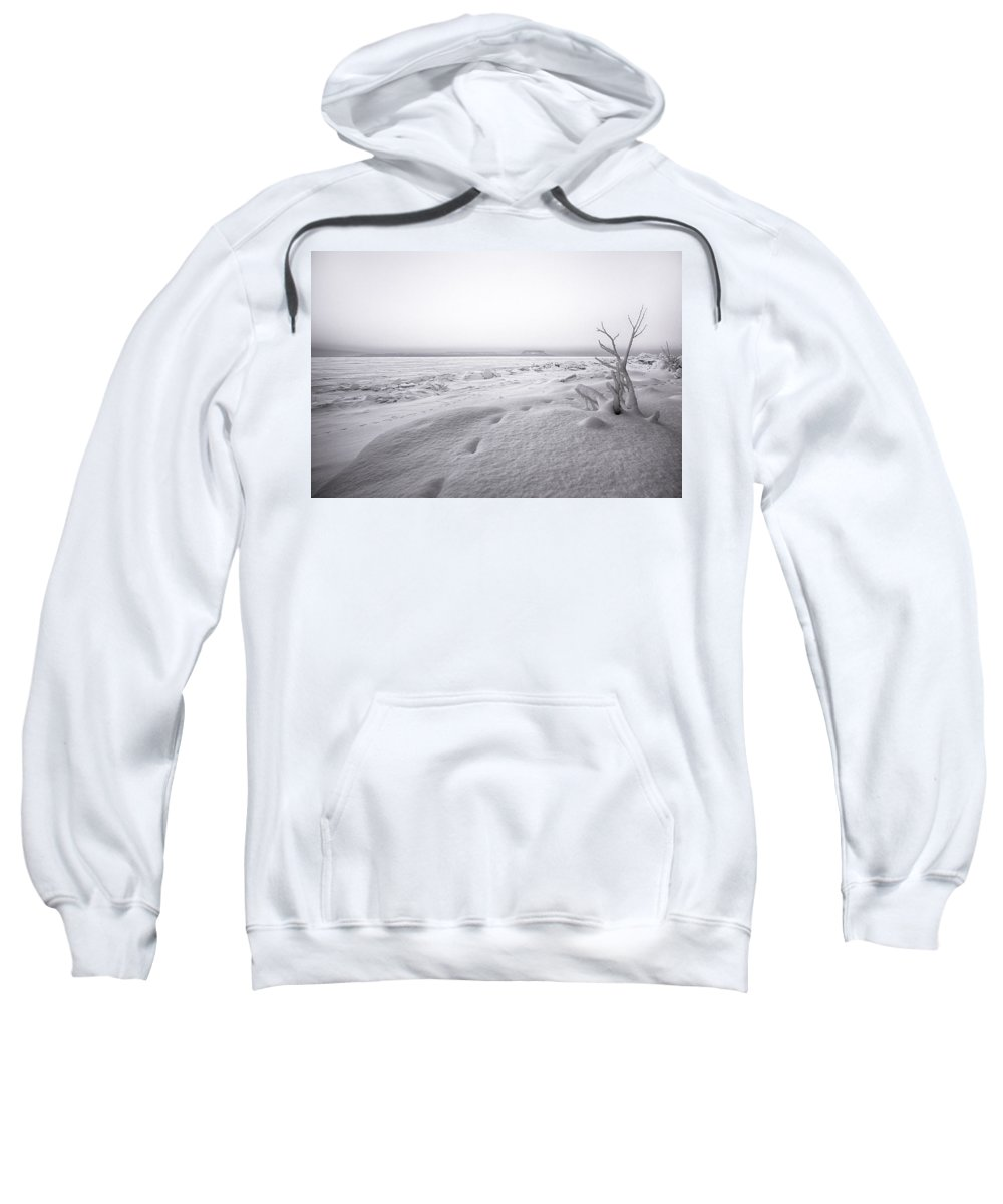 Aboriginal Sweatshirt featuring the photograph Brule Bay Lake Superior by Jakub Sisak