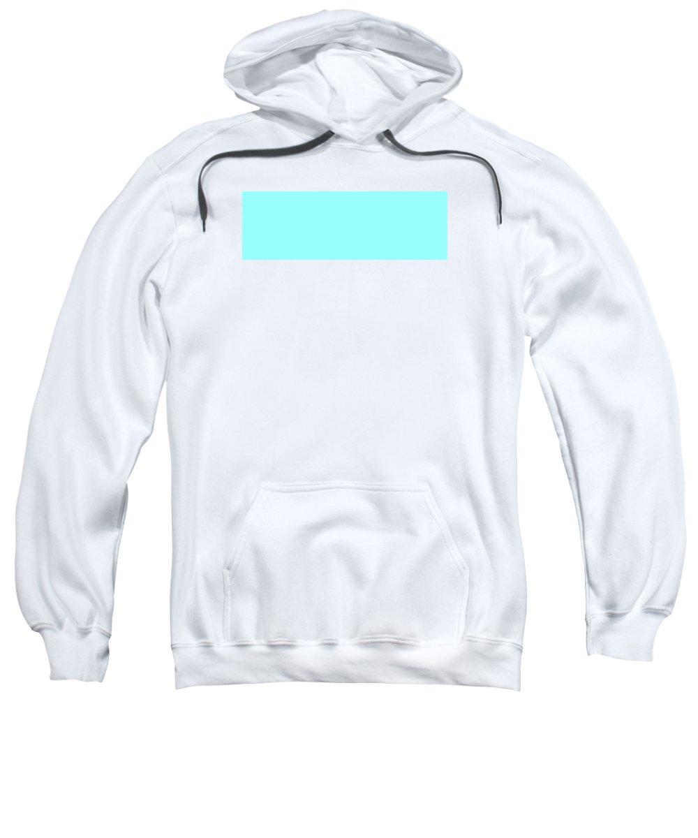 Abstract Sweatshirt featuring the digital art C.1.153-255-253.3x1 by Gareth Lewis