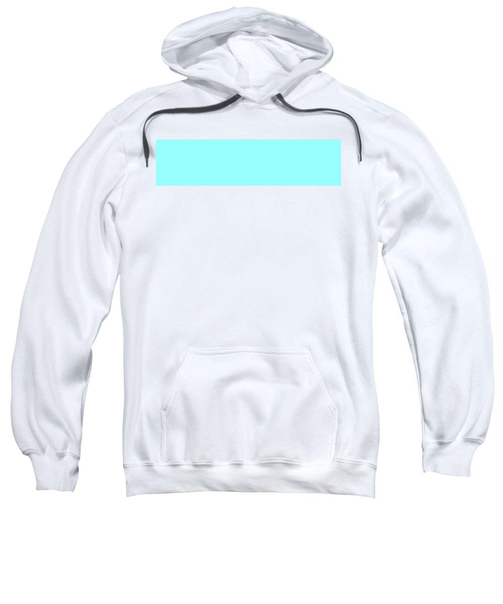 Abstract Sweatshirt featuring the digital art C.1.153-255-253.4x1 by Gareth Lewis