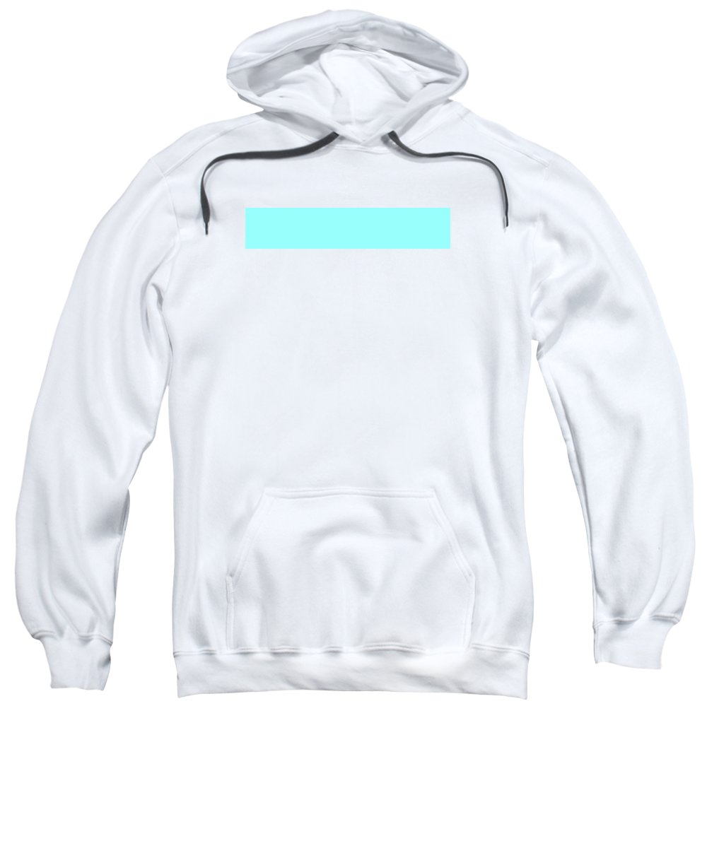 Abstract Sweatshirt featuring the digital art C.1.153-255-253.5x1 by Gareth Lewis