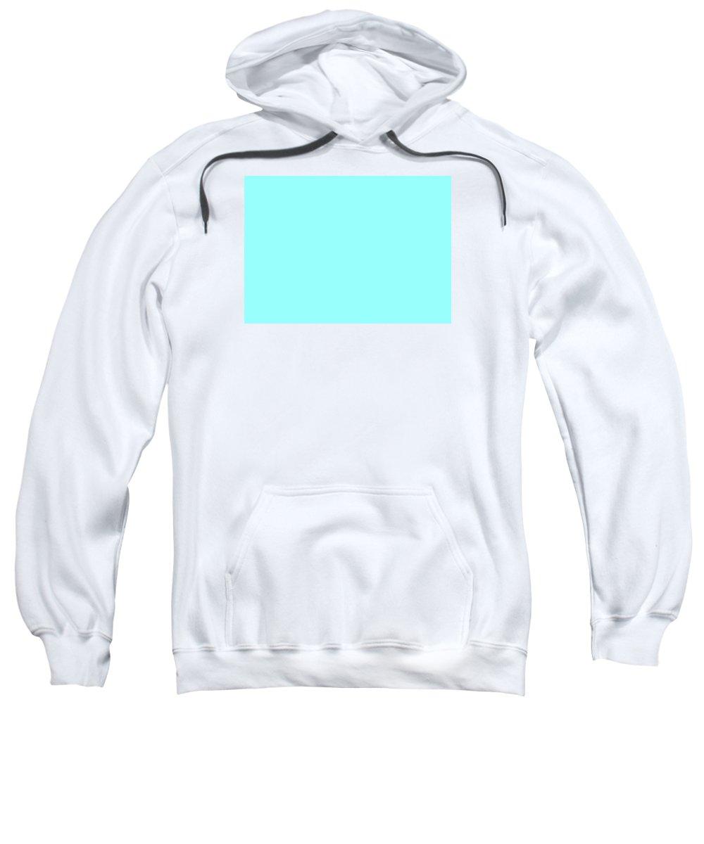 Abstract Sweatshirt featuring the digital art C.1.153-255-253.7x5 by Gareth Lewis