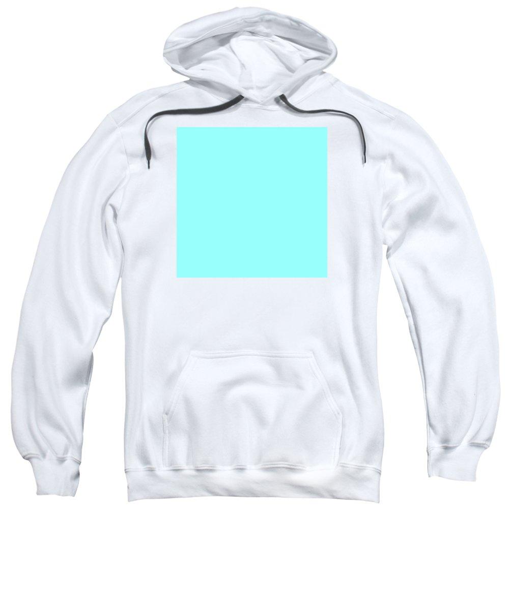 Abstract Sweatshirt featuring the digital art C.1.153-255-253.7x7 by Gareth Lewis