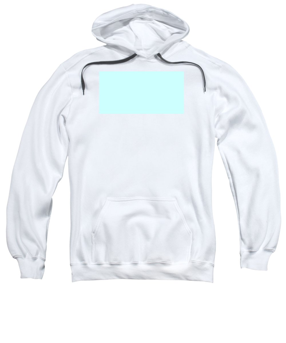 Abstract Sweatshirt featuring the digital art C.1.204-255-254.2x1 by Gareth Lewis