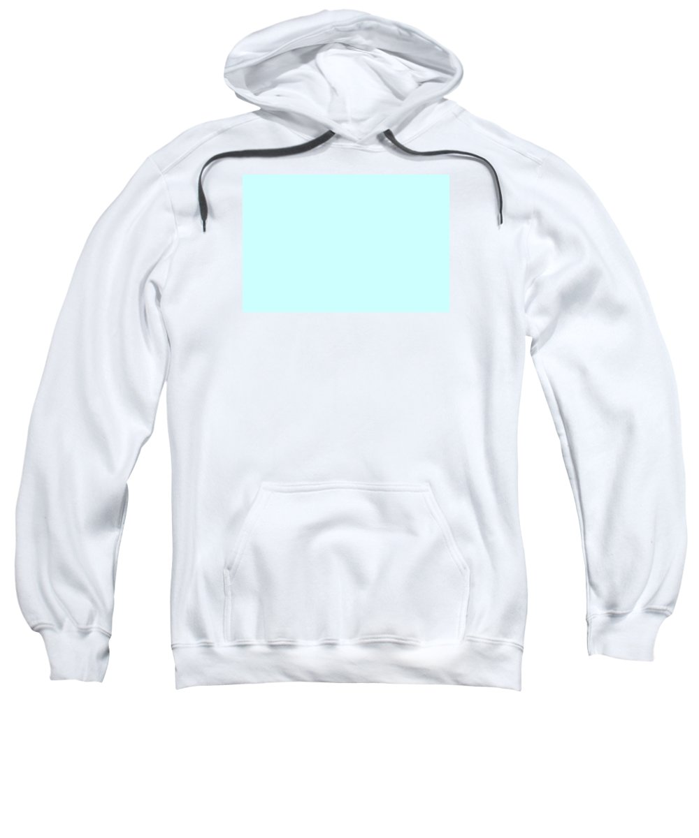 Abstract Sweatshirt featuring the digital art C.1.204-255-254.3x2 by Gareth Lewis