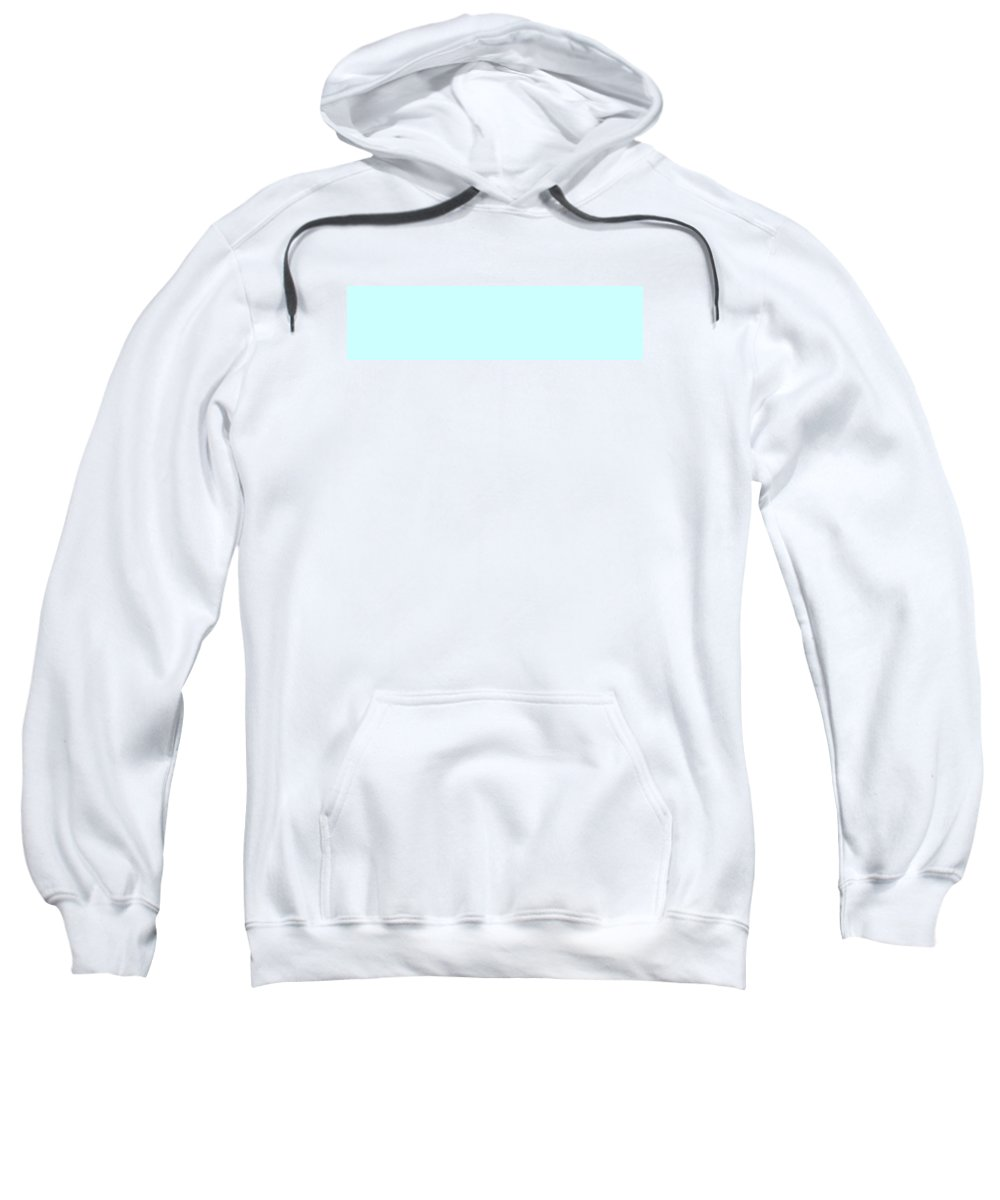 Abstract Sweatshirt featuring the digital art C.1.204-255-254.4x1 by Gareth Lewis