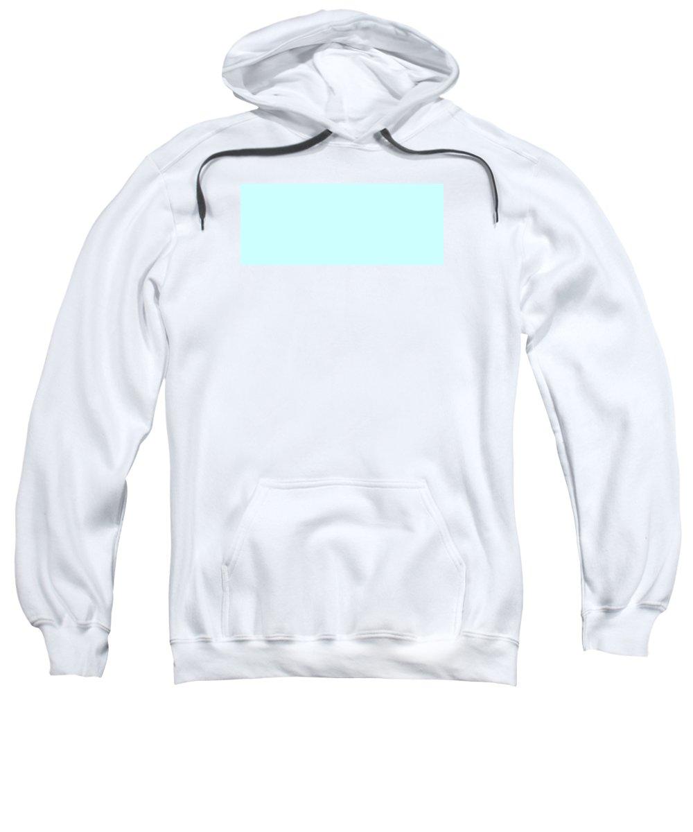 Abstract Sweatshirt featuring the digital art C.1.204-255-254.5x2 by Gareth Lewis