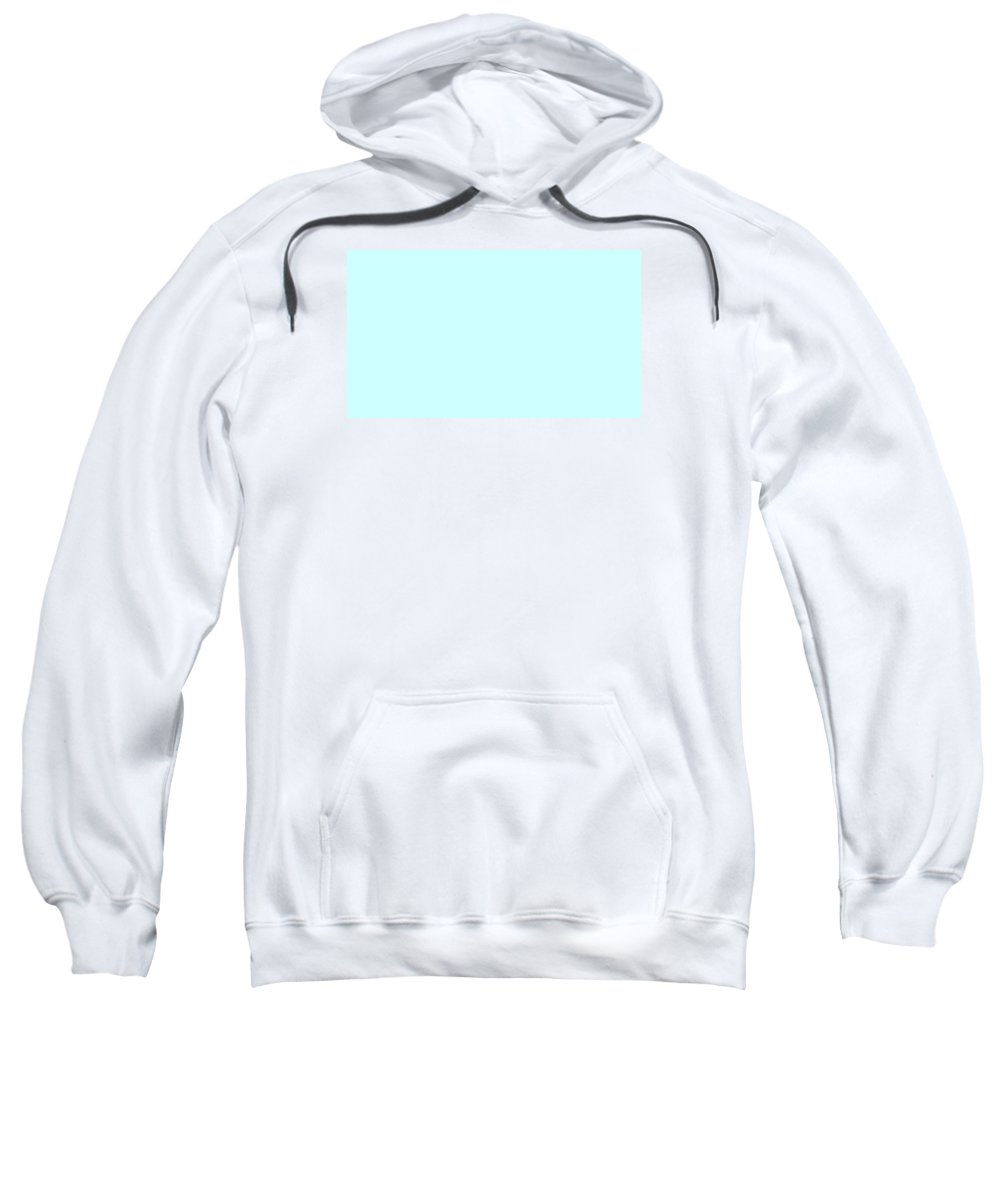Abstract Sweatshirt featuring the digital art C.1.204-255-254.7x4 by Gareth Lewis