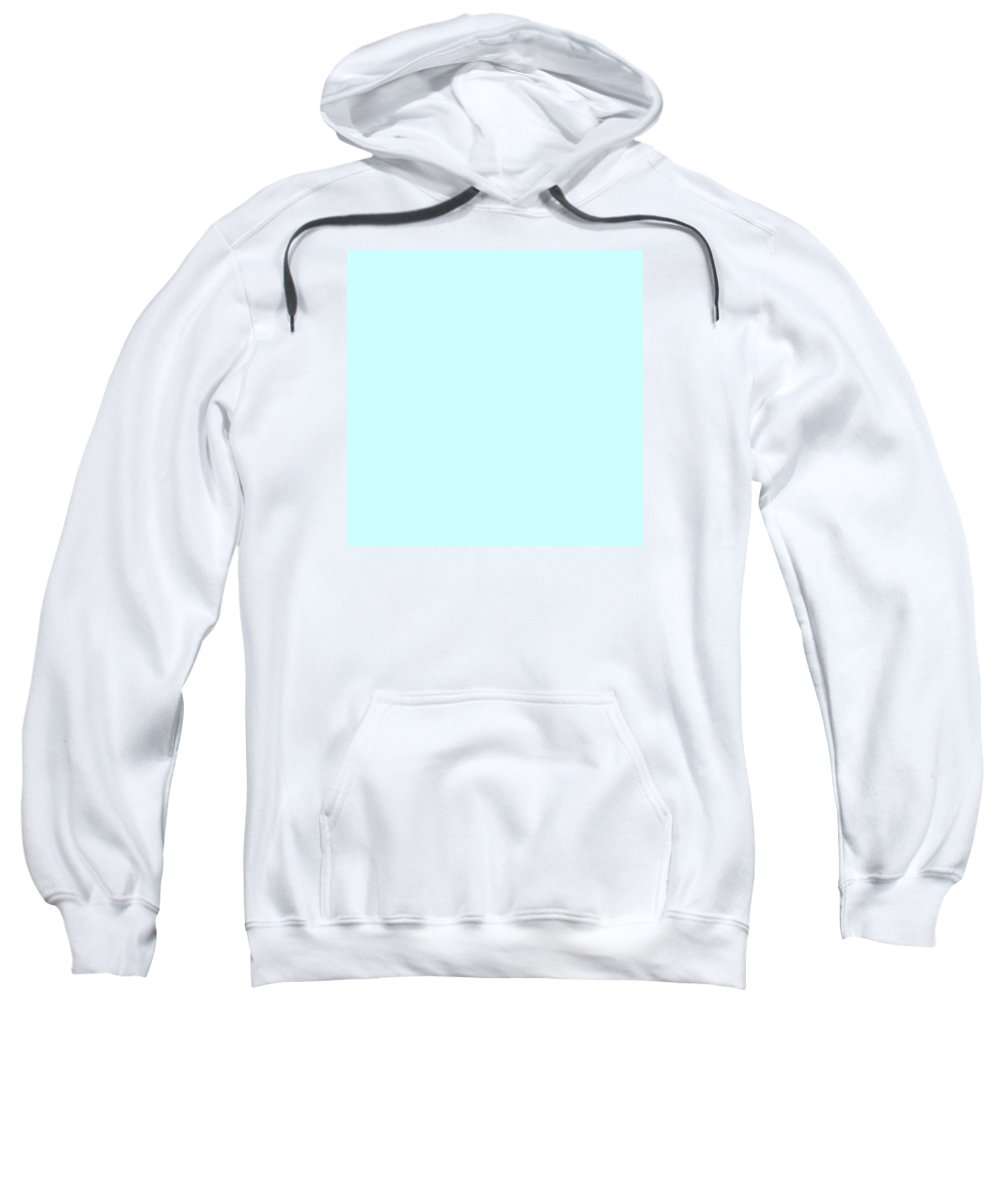 Abstract Sweatshirt featuring the digital art C.1.204-255-254.7x7 by Gareth Lewis
