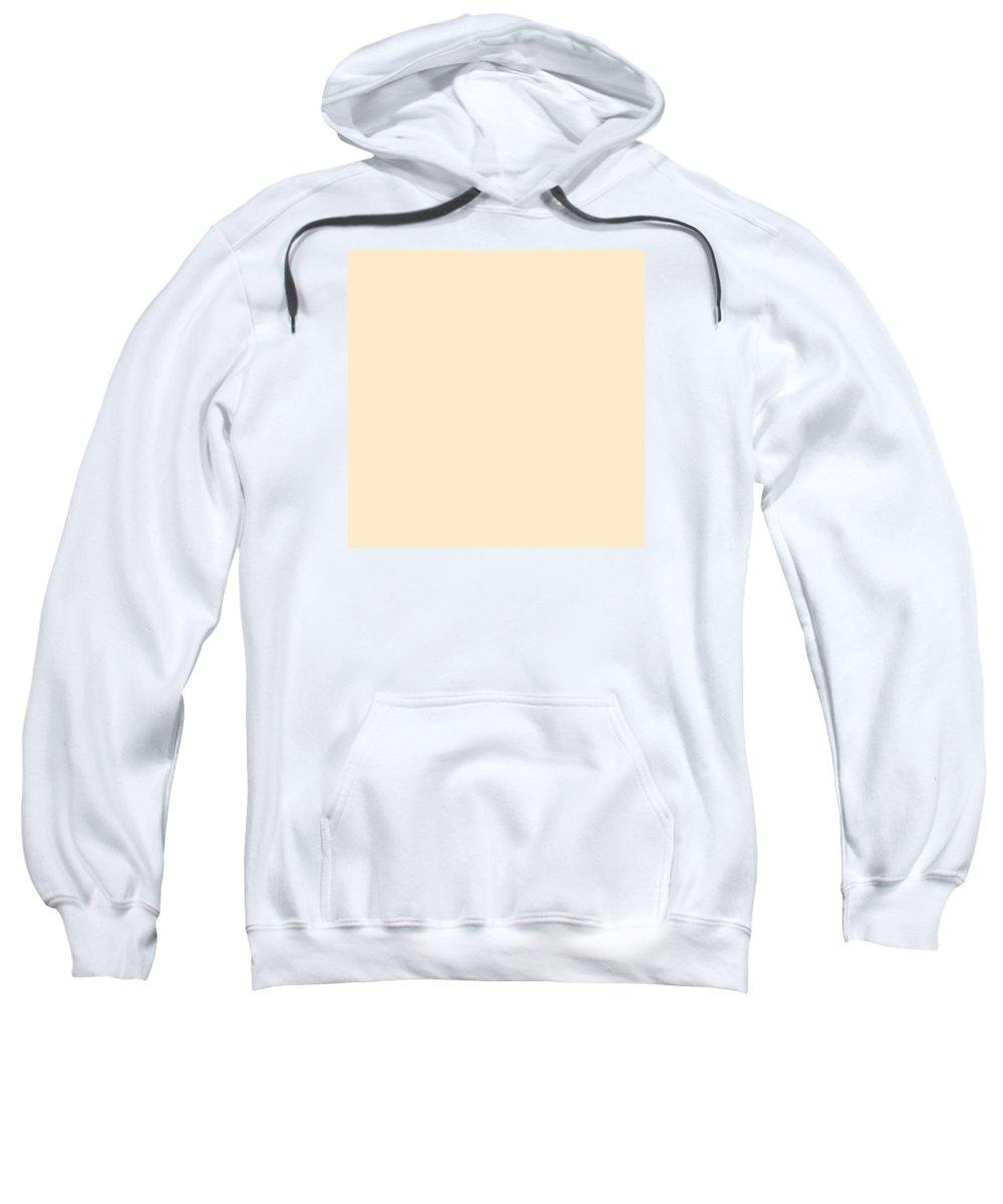 Abstract Sweatshirt featuring the digital art C.1.255-234-204.7x7 by Gareth Lewis