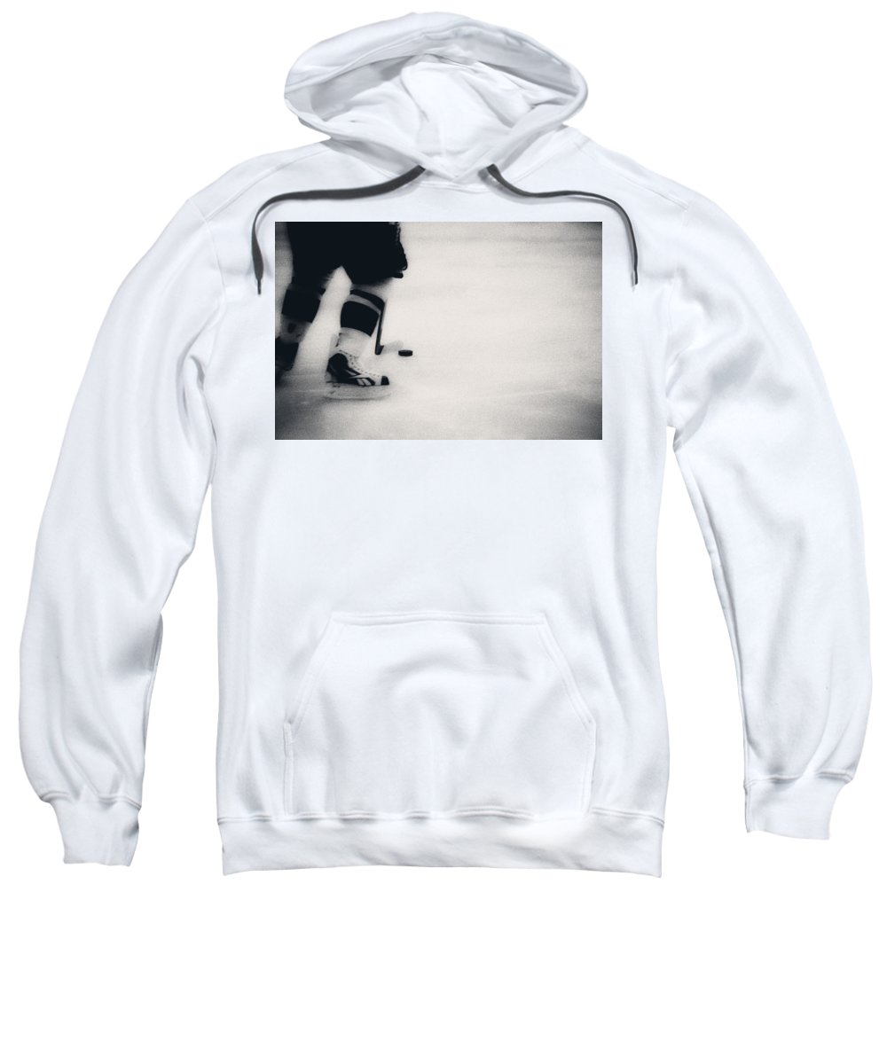 Playing On The Edge Sweatshirt featuring the photograph Carrying by Karol Livote
