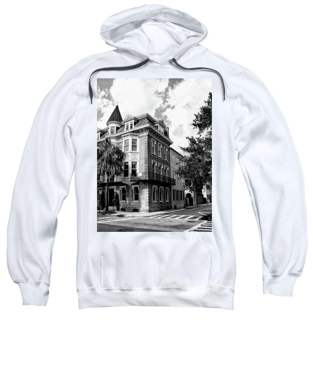 Charleston Sweatshirt featuring the photograph Charleston Corner Charleston Sc by William Dey