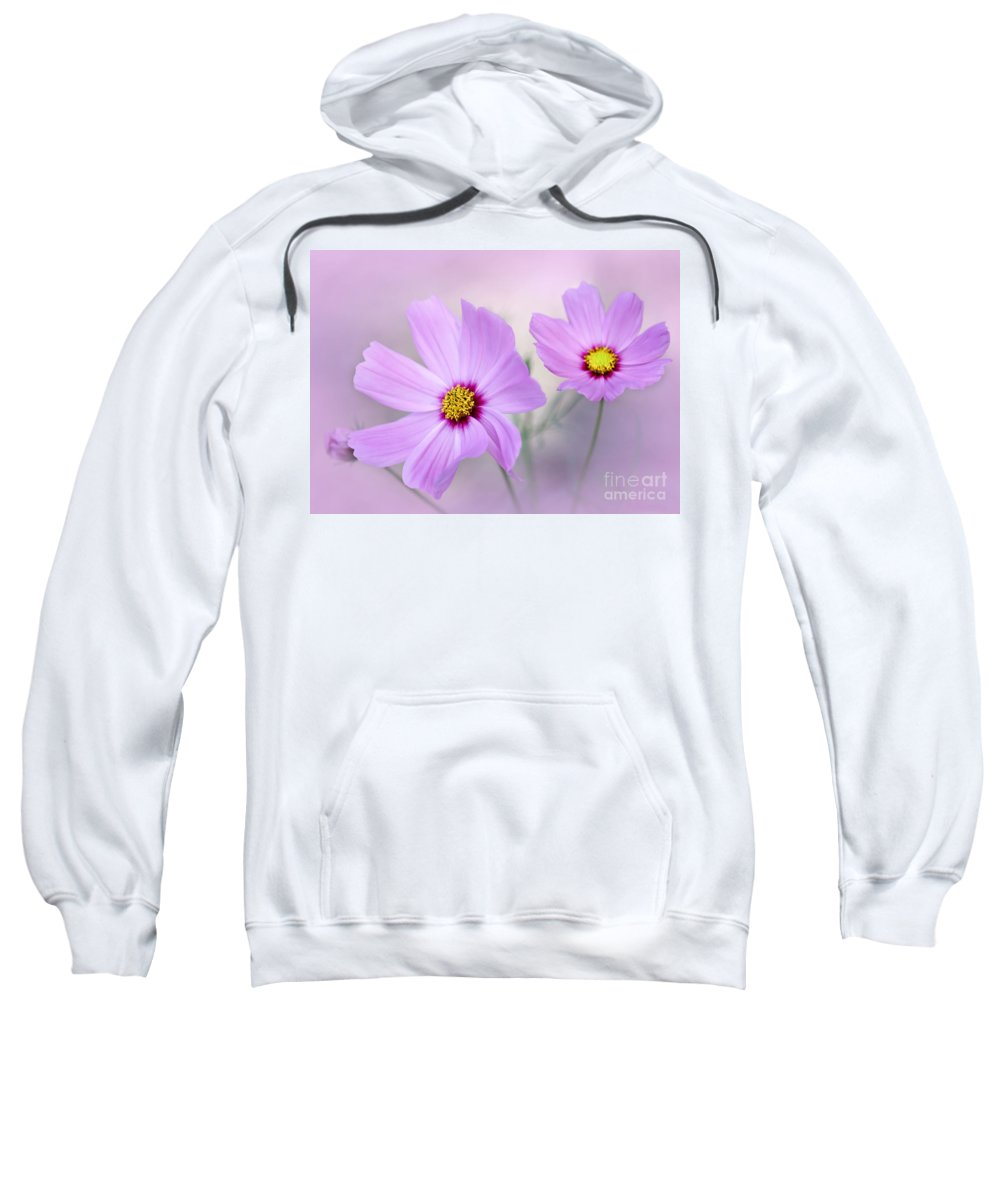 Macro Sweatshirt featuring the photograph Classy And Cosmopolitan by Sabrina L Ryan