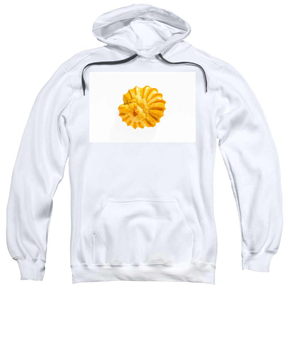 Cake Sweatshirt featuring the photograph Close-up Of A Puff by Alain De Maximy