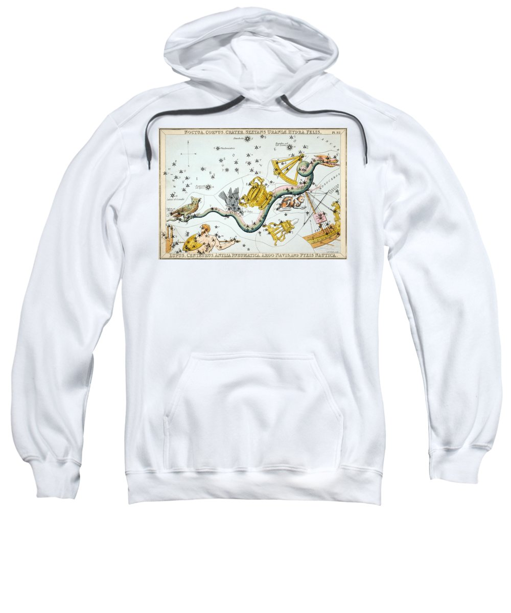 1825 Sweatshirt featuring the photograph Constellation: Hydra by Granger