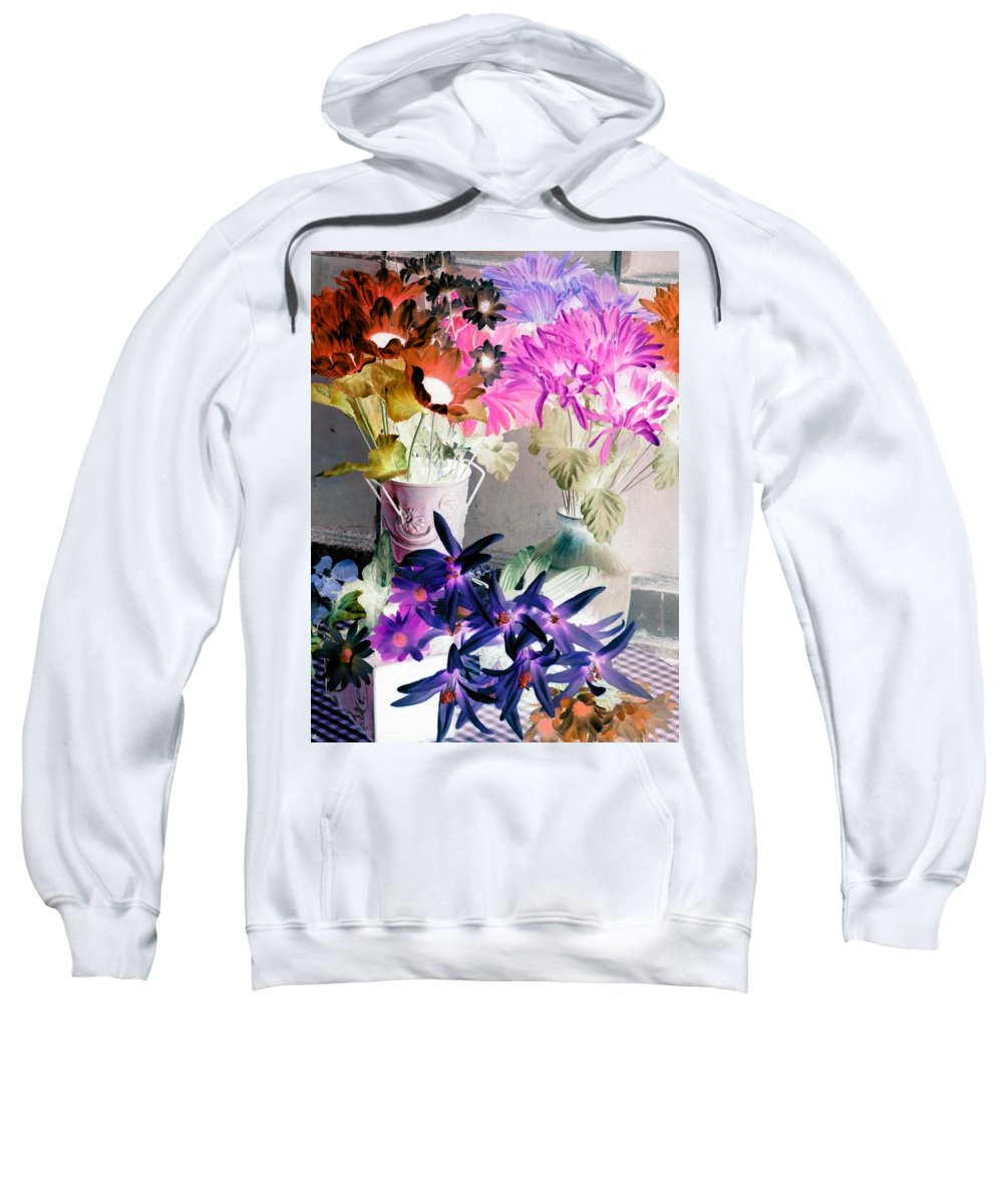 Flower Sweatshirt featuring the photograph Country Comfort - Photopower 518 by Pamela Critchlow