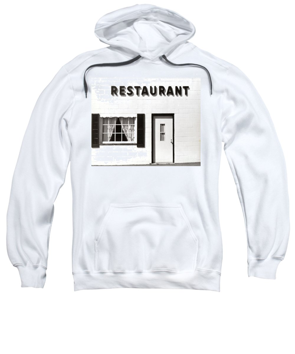 Restaurant Sweatshirt featuring the photograph Country Restaurant by Thomas Marchessault
