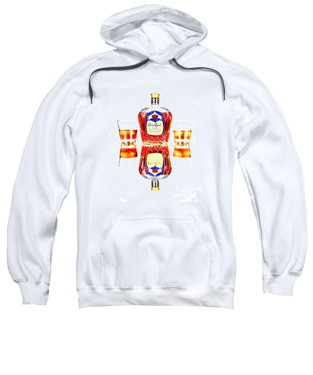 Crown Royal Sweatshirt featuring the photograph Crown Royal by Glenn Gordon
