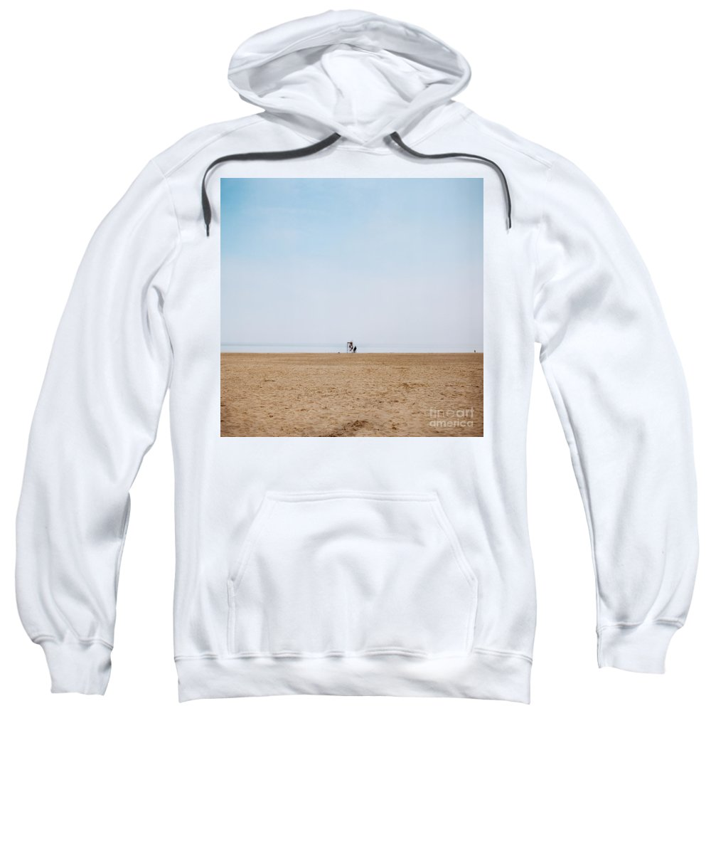 Beach Sweatshirt featuring the photograph Day At The Beach IIi by Mary Smyth