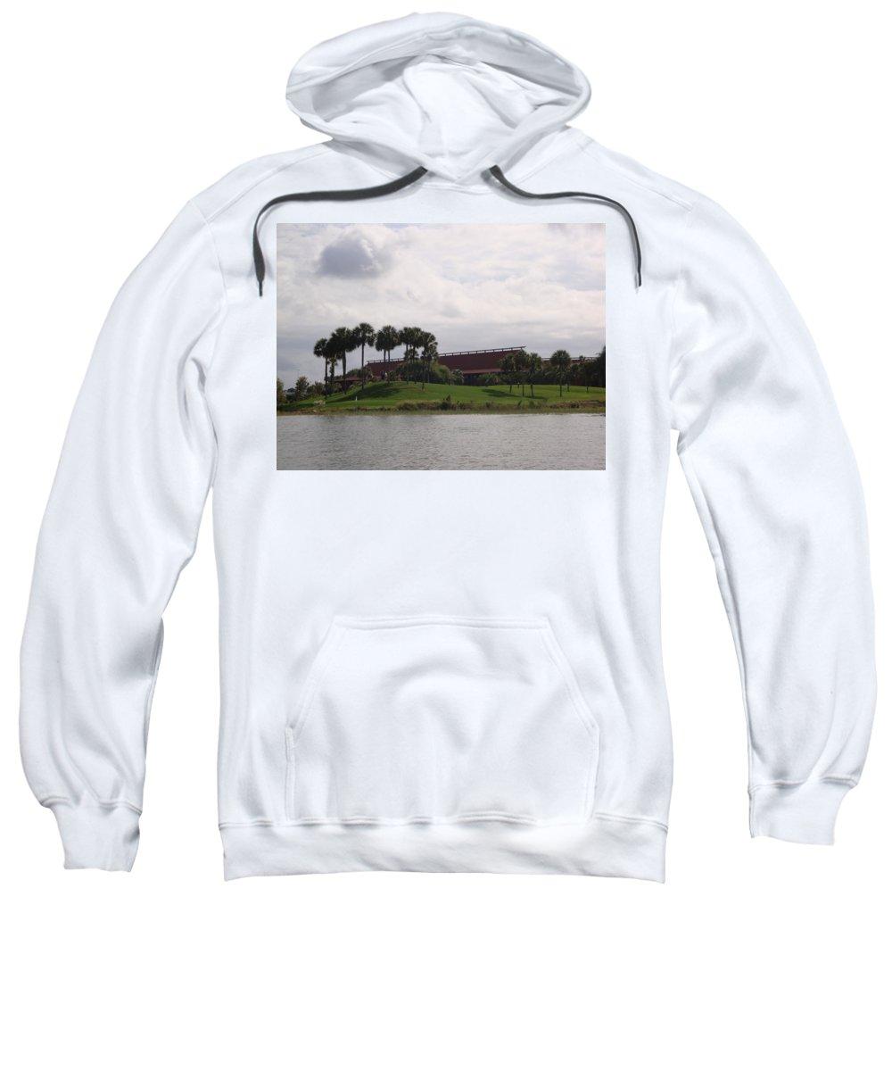 Disney Sweatshirt featuring the photograph Disney's Polynesian Resort Hotel by Kim Chernecky