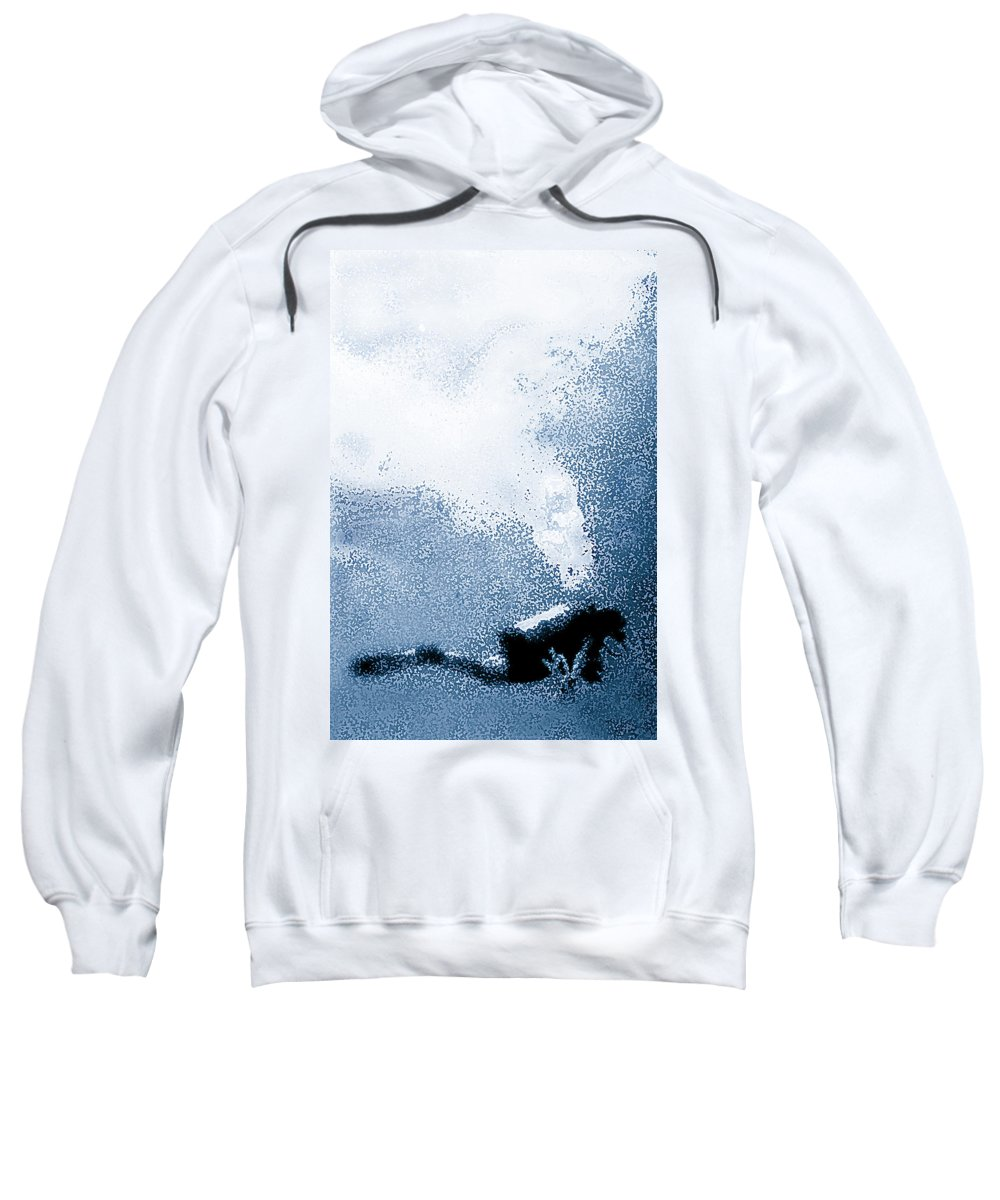 Scuba Diving Sweatshirt featuring the photograph Diver Down by Doug Heslep