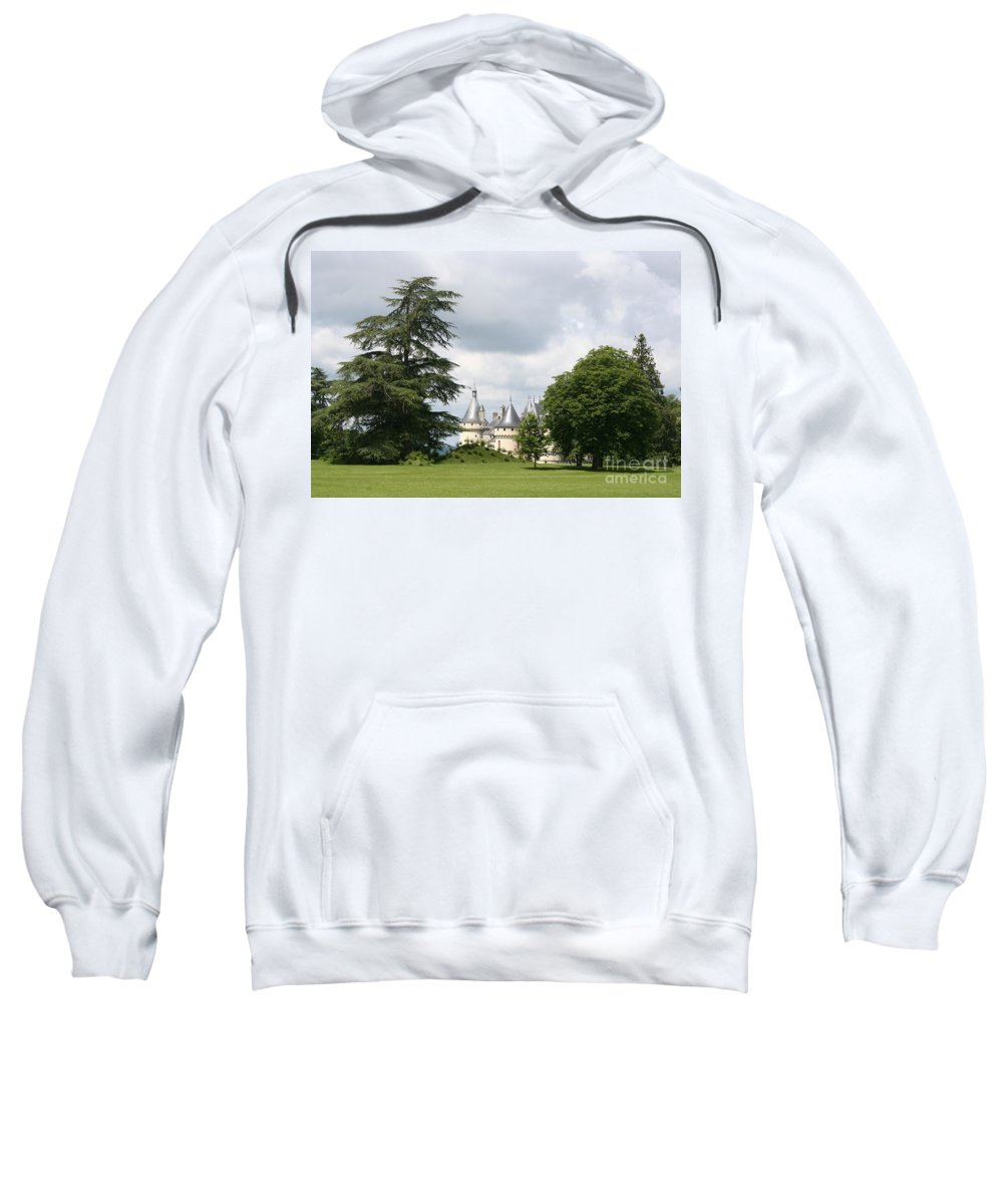 Palace Sweatshirt featuring the photograph Dreamlike - Chateau Chaumont by Christiane Schulze Art And Photography